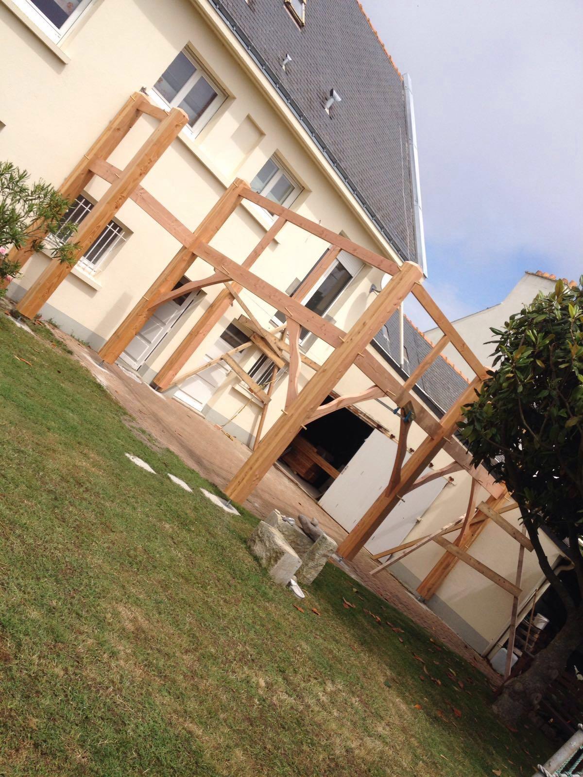 terrasses en bois cr ation sur mesure menuiserie msm herbignac. Black Bedroom Furniture Sets. Home Design Ideas