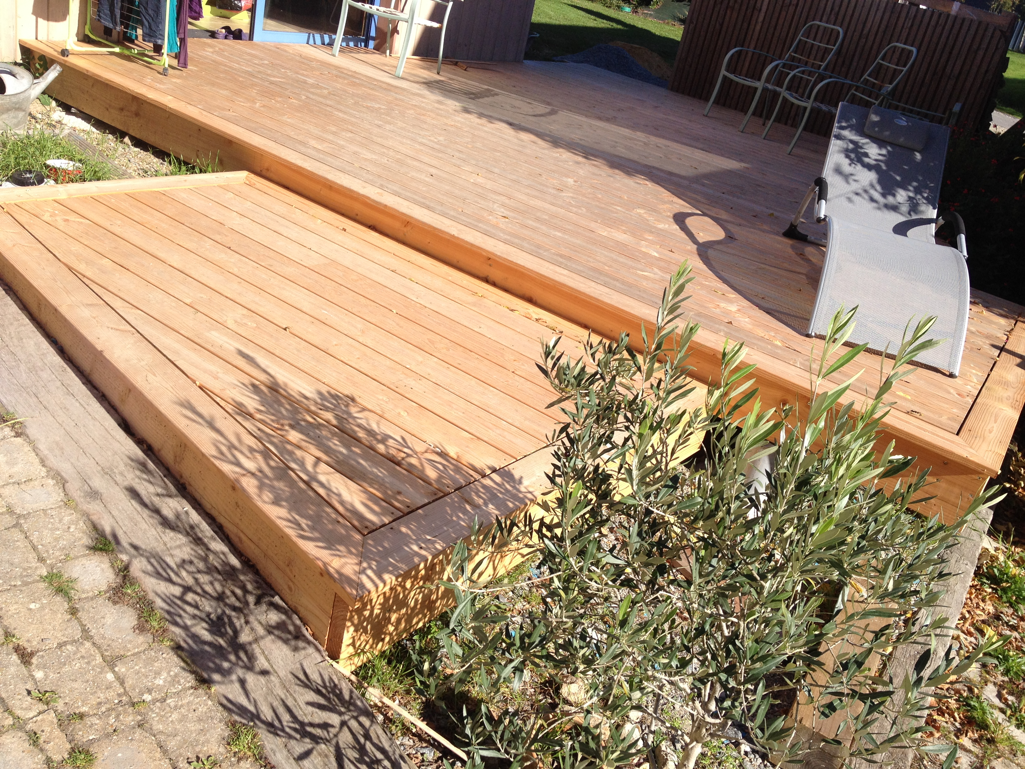 terrasse douglas msm menuiseries herbignac. Black Bedroom Furniture Sets. Home Design Ideas