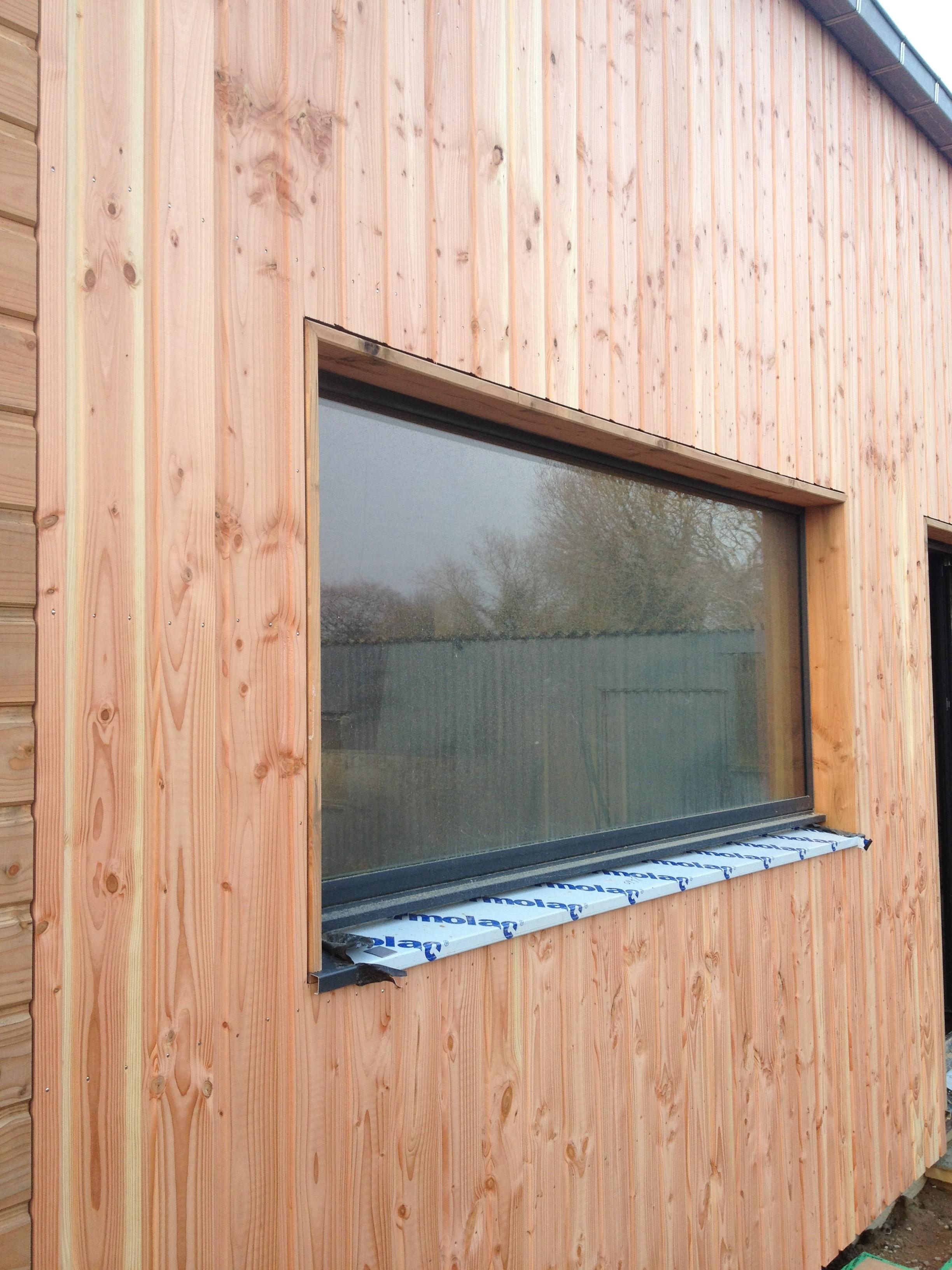 Bardage Bois Vertical Interieur bardage bois, le bardage est un habillage extérieur